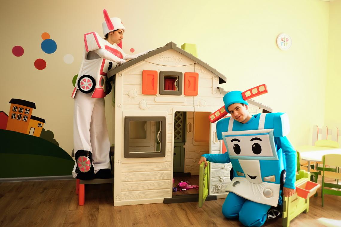 Поли Робокар на детский праздник