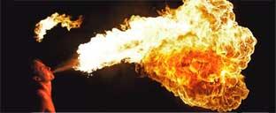 Фаер-шоу. Огненное-шоу. Завораживающая власть огня