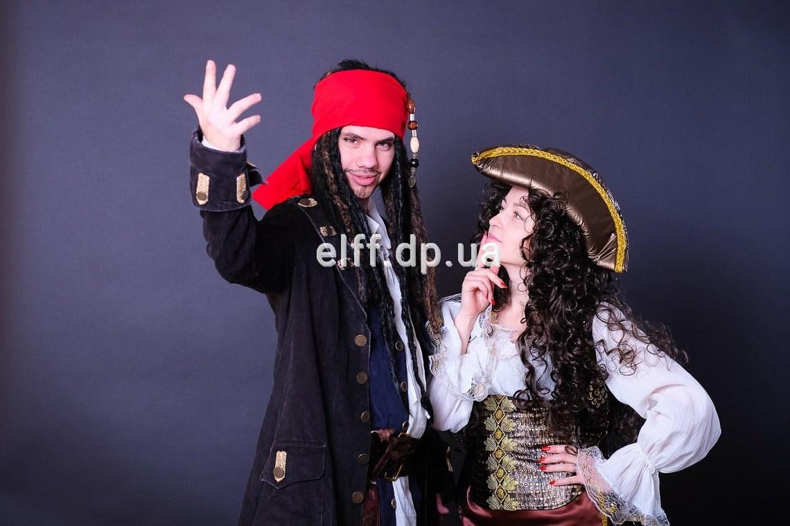 детский праздник Пираты Карибского моря