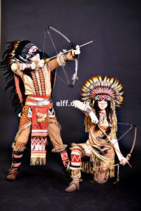 аниматоры индейцы на детский праздник