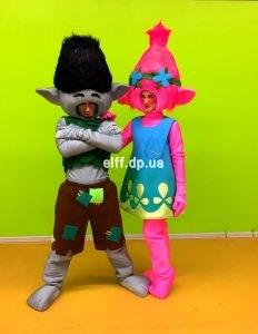 Детский праздник Тролли