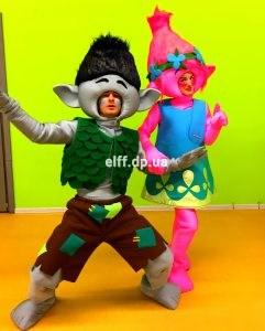 аниматоры тролли на детский праздник день рождения