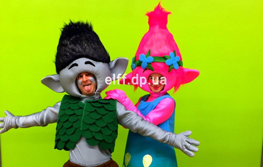 Тролли на детские праздники